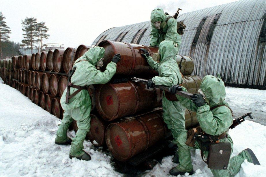 Centre de destruction d'armes chimiques à 90 km... (PHOTO VIKTOR KOROTAYEV, ARCHIVES REUTERS)
