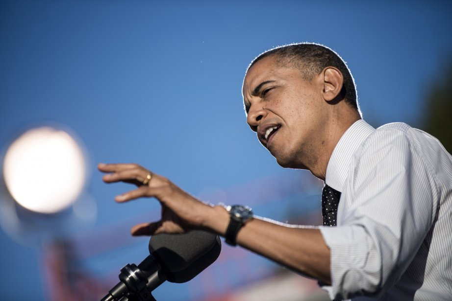 Barack Obama... (PHOTO BRENDAN SMIALOWSKI, AFP)