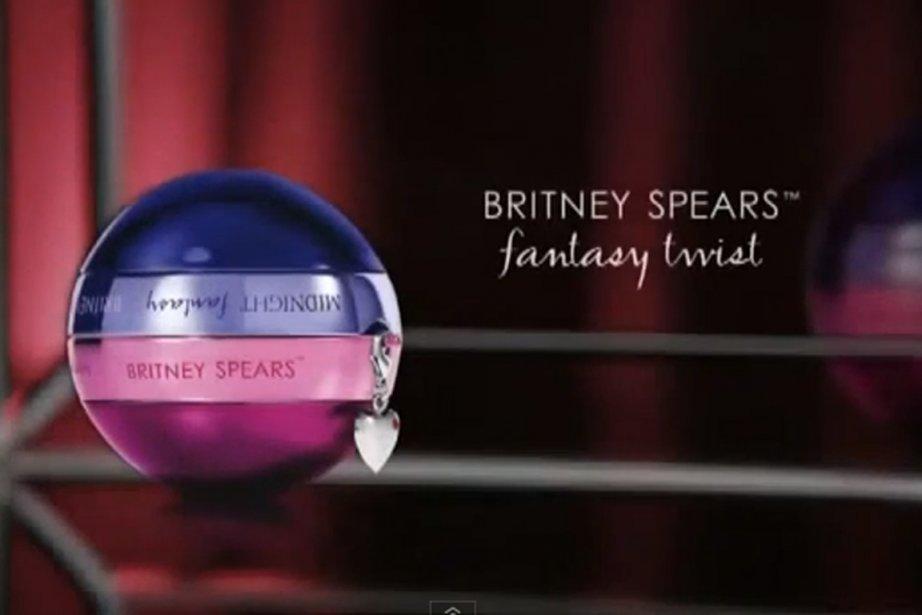 La campagne publicitaire du nouveau parfum de Britney... (Photo tirée de la publicité)