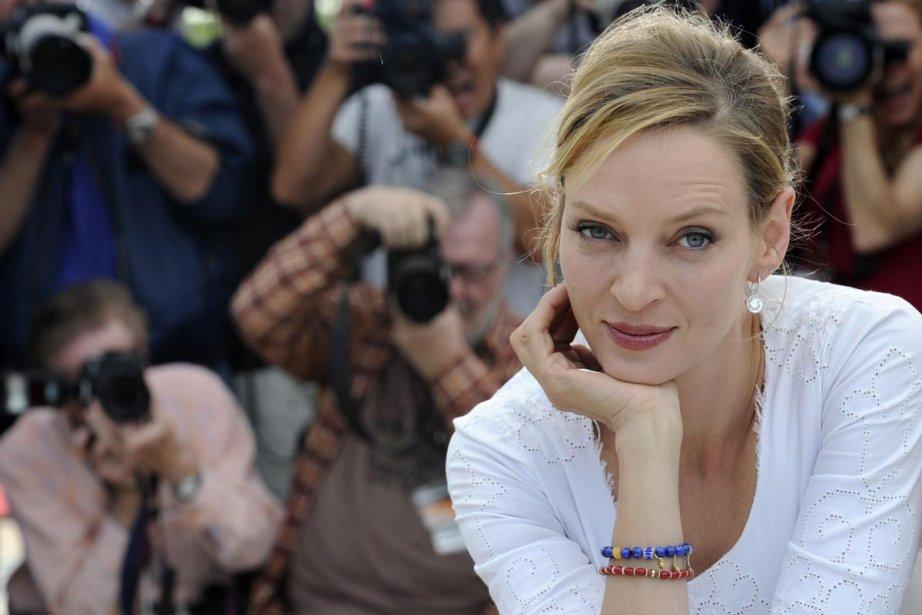 Uma Thurman au Festival de Cannes en mai... (Photo: archives AFP)