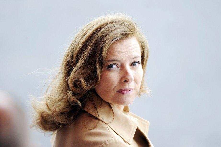 La Première dame Valérie Trierweilerportera plainte pour «diffamation... (PHOTO BERTRAND GUAY, AFP)