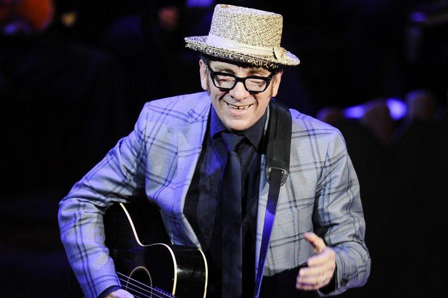 Elvis Costello... (Photo: AP)