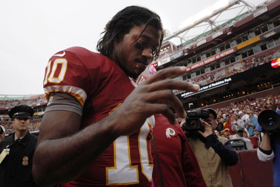 Le quart des Redskins, Robert Griffin III, a... (Photo: Reuters)