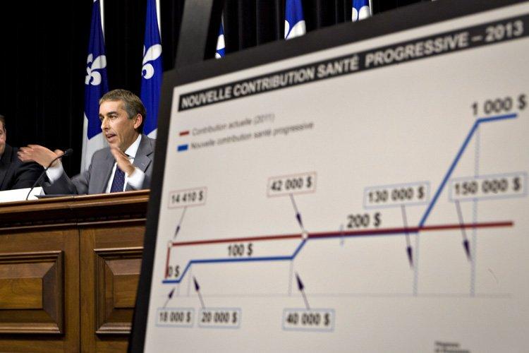Le ministre des Finances du Parti québécois, Nicolas... (Photo: PC)