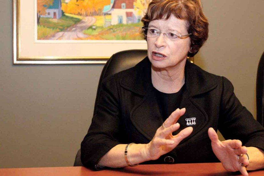 La ministre de l'Éducation Marie Malavoy a confié... (Le Soleil, Pascal Ratthé)