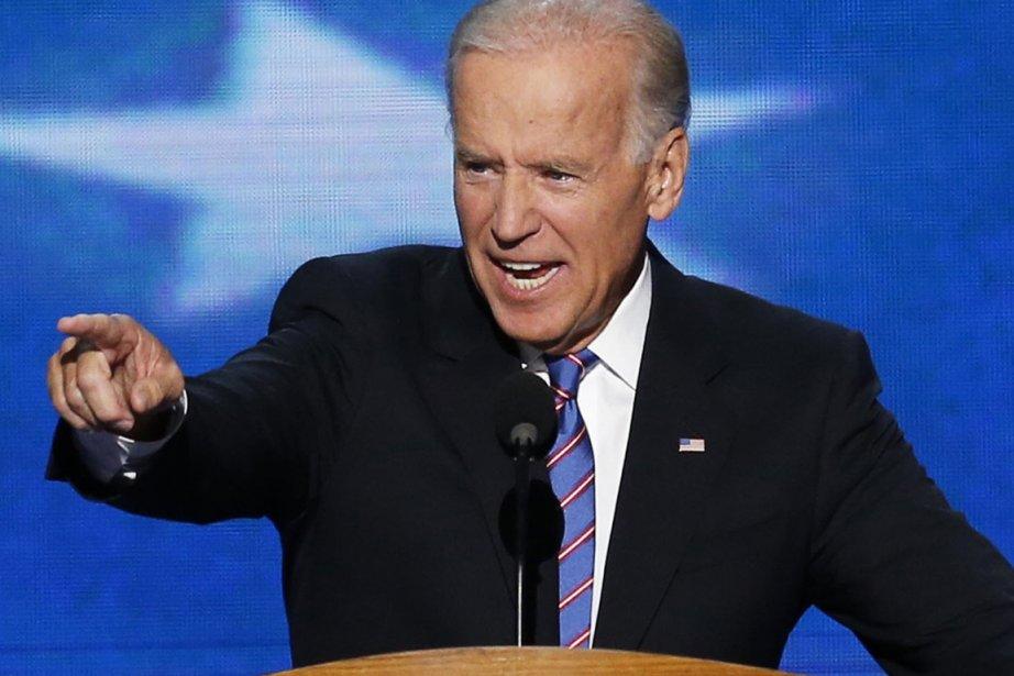 Le vice-président sortant, le démocrate Joe Biden (notre... (PHOTO REUTERS)