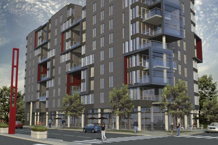 Le projet Alinéa est en construction à Montréal-Nord.... (Illustration fournie par la SHDM)