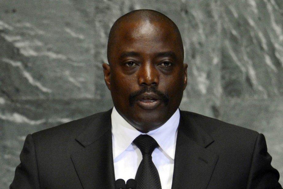 Joseph Kabila... (Photo AFP)