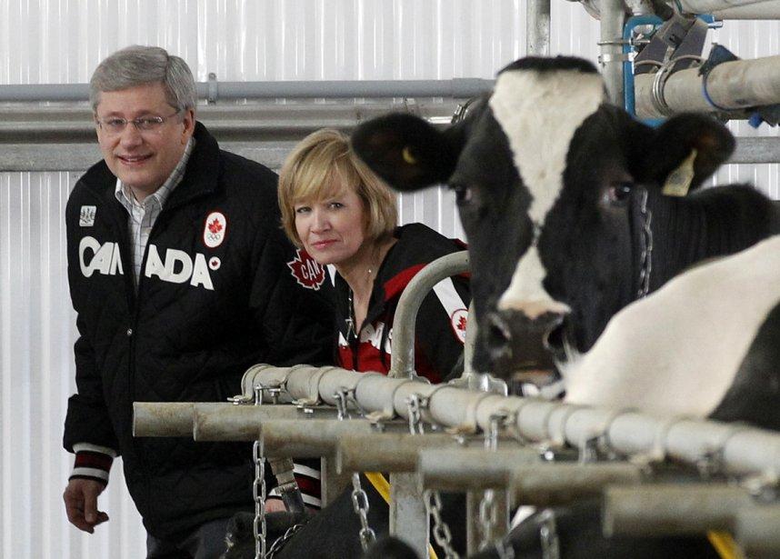 Canada: le premier ministre Stephen Harper et sa femme Laureen... | 2012-10-11 00:00:00.000