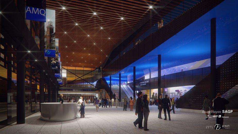 Le hall de l'amphithéâtre | 11 octobre 2012
