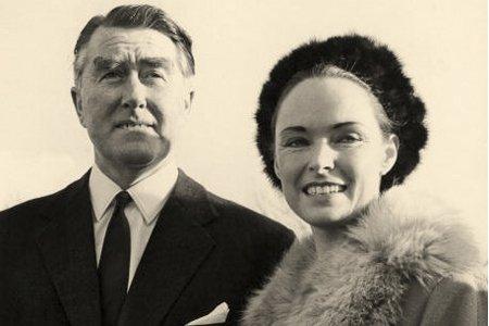 Roy Bates, le prince autoproclamé du «Sealand», et... (Photo: Archives Evening Standard)