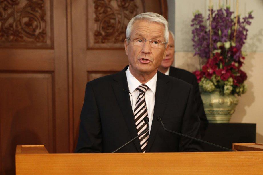 C'est le très europhile président du comité Nobel,... (Photo Heiko Junge, Reuters)