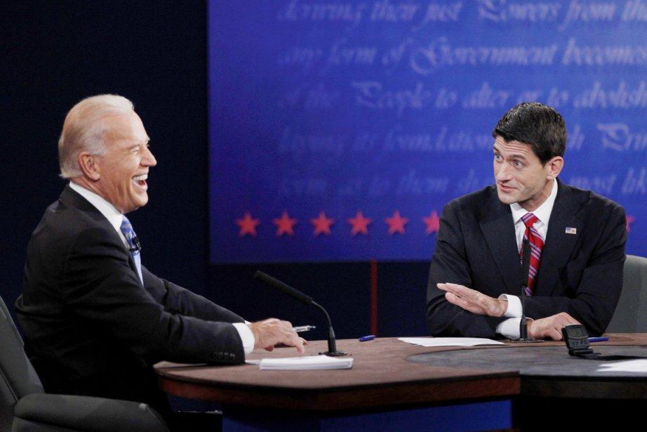 La gestuelle de Joe Biden (à gauche) fera... (PHOTO MATT SULLIVAN, REUTERS)