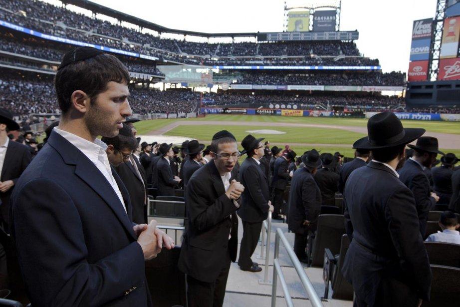 Des dizaines de milliers de Juifs orthodoxes se... (Photo: James Estrin, The New York Times)