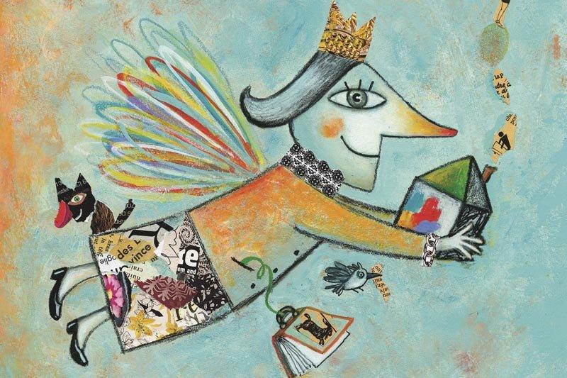 L'exposition L'art des livresjeunesse est... (Illustration: Philippe Béha)