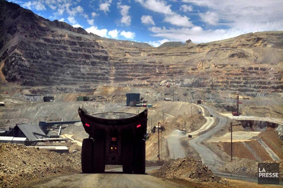 Une mine de cuivre au Chili.... (Photo AFP)