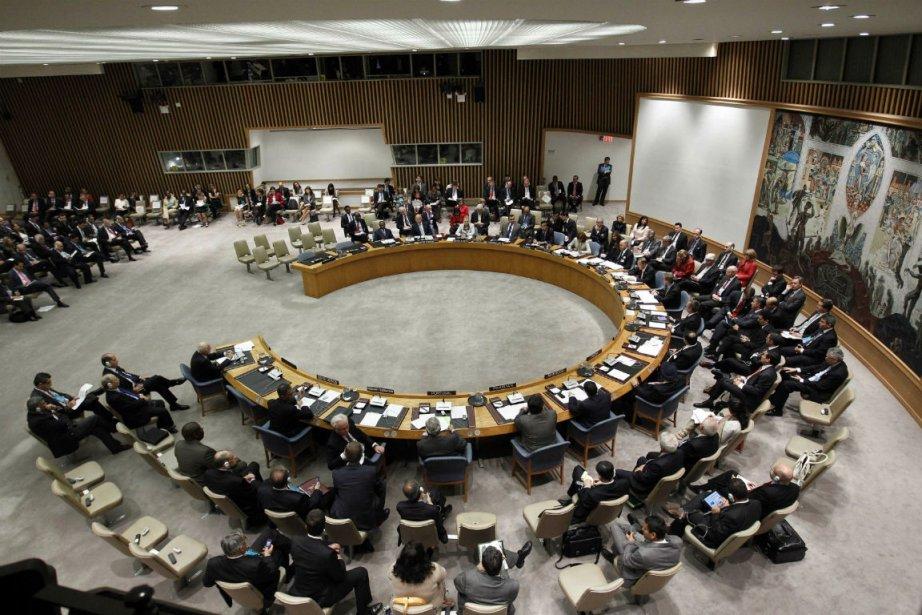 La résolution a été mise au point par... (Photo Keith Bedford, Reuters)
