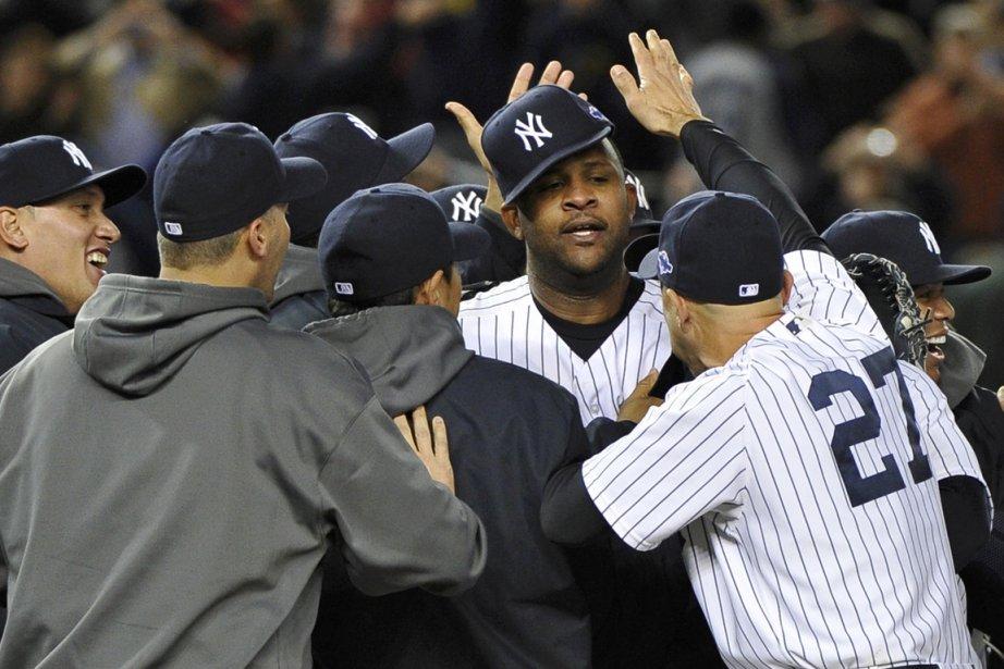 CC Sabathia des Yankees... (PHOTO RAY STUBBLEBINE, REUTERS)