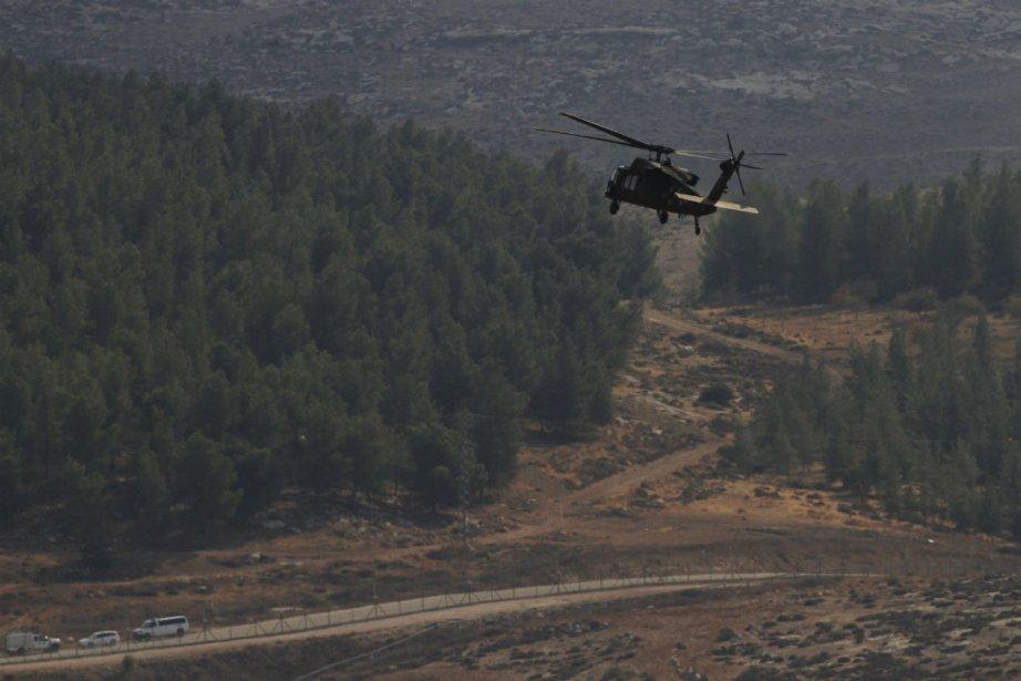 L'offensive israélienne intervient en réponse à un tir... (Photo Amir Cohen, Reuters)