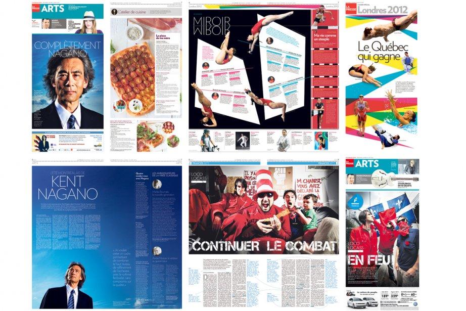 À La Presse et à l'imprimerie Transcontinental Métropolitain,...