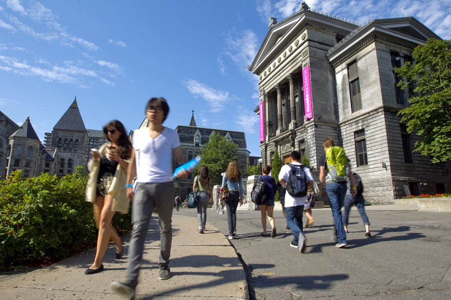 Un étudiant de l'Université McGill a lancé... (Photo: Alain Roberge, La Presse)