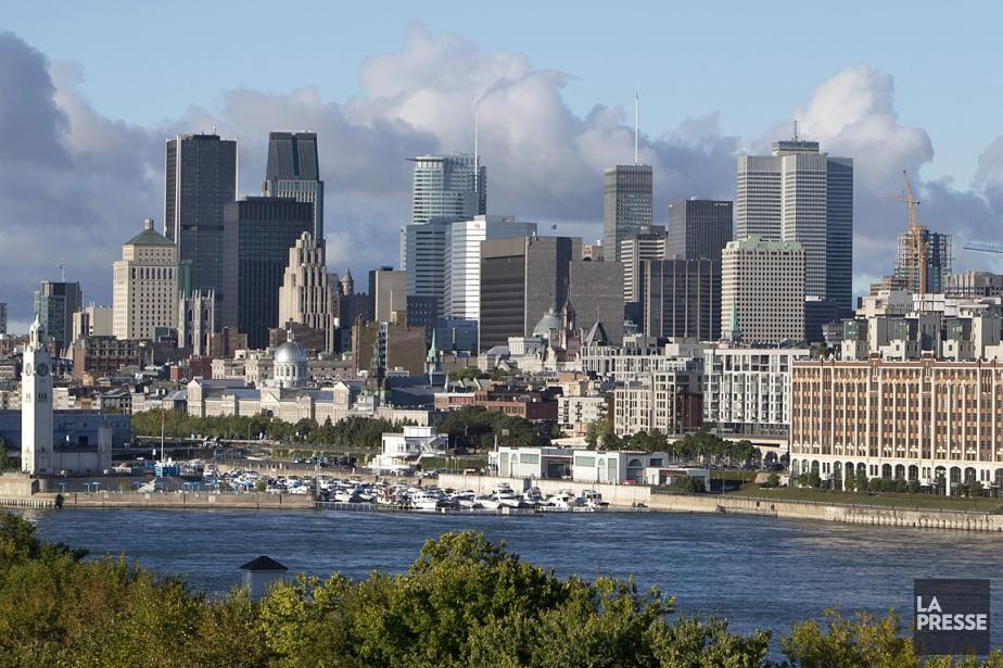 Le centre-ville de Montréal.... (PHOTO ROBERT SKINNER, ARCHIVES LA PRESSE)
