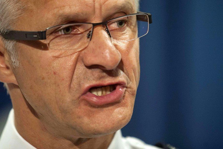 Marc Parent, chef du Service de police de... (Photo: PC)