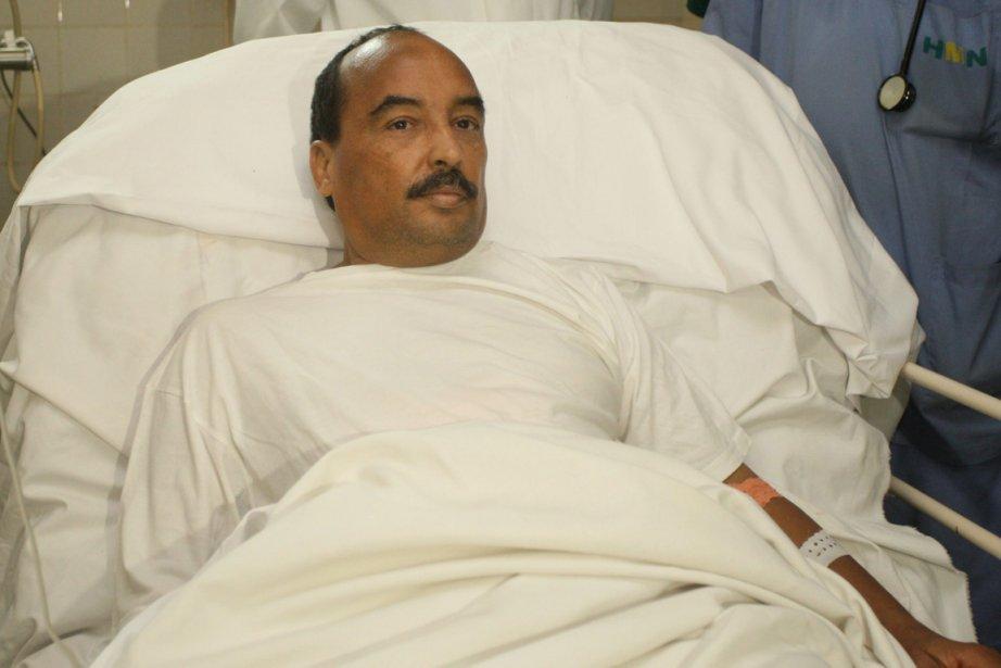 Le président mauritanien Mohamed Ould Abdel Aziz.... (Photo : AP)