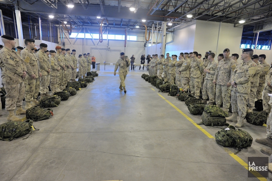 La... (Photo du Sgt Jean-Francois Néron, fournie par l'armée canadienne)