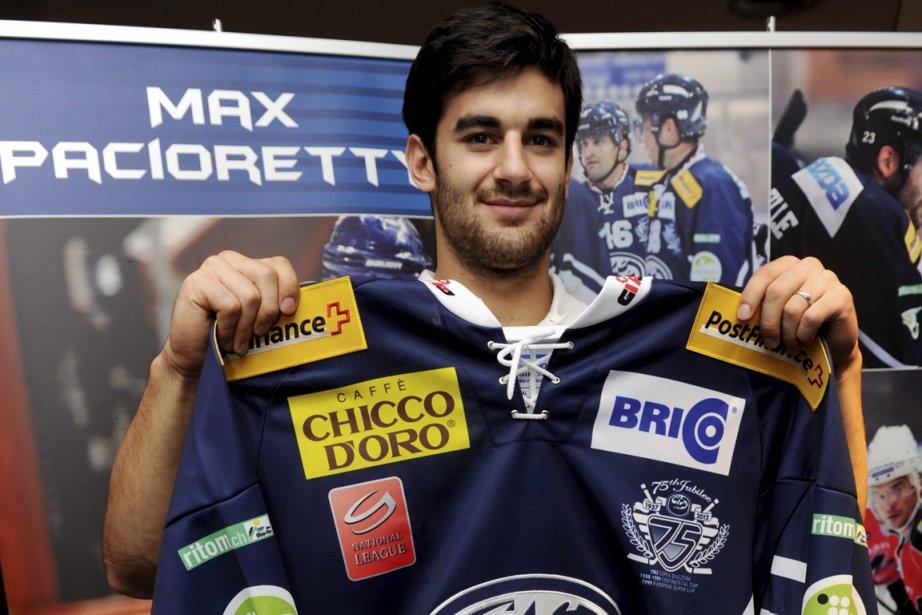 Max Pacioretty prend avec philosophie la décision de... (Photo: AP)