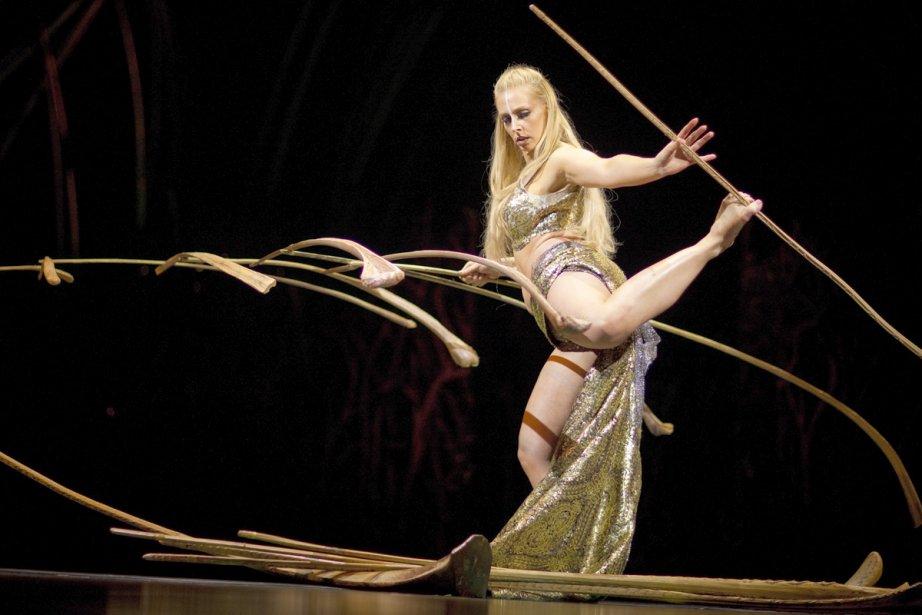 Une scène du spectacle Amaluna... (Photo:  archives La Presse)