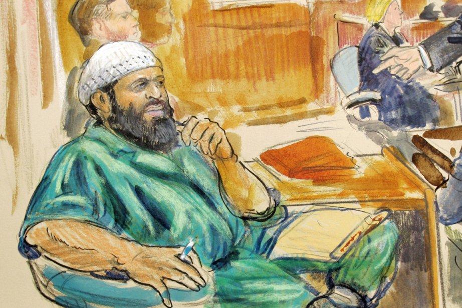 Zacarias Moussaoui, l'un des plus célèbres terroristes islamistes... (ILLUSTRATION DANA VERKOUTEREN, ARCHIVES AP)