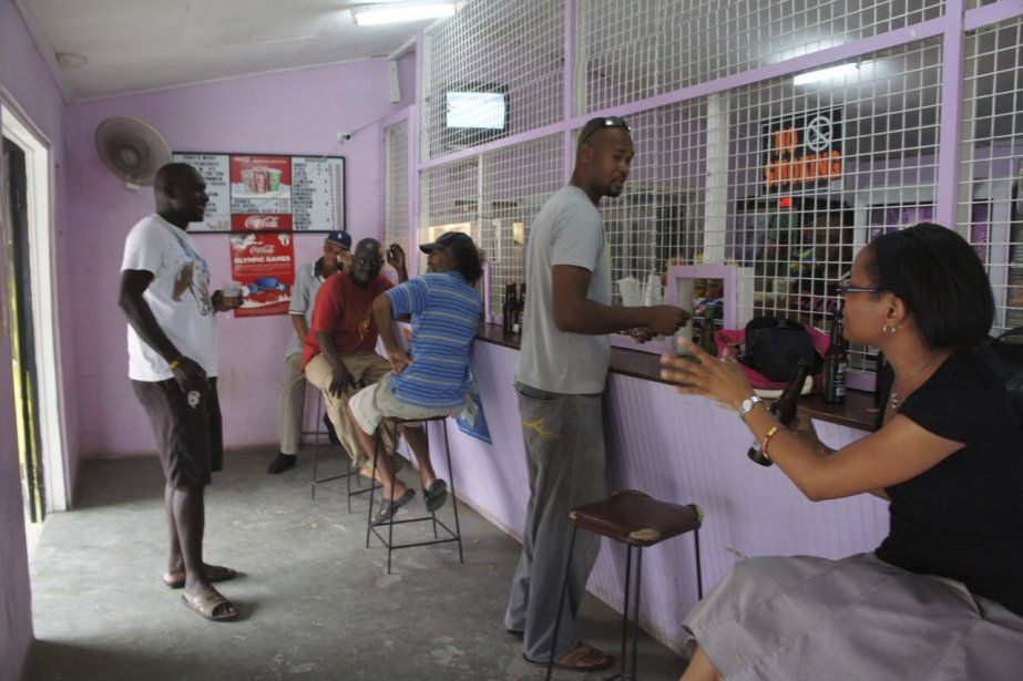 Les «rhum shops». | 15 octobre 2012