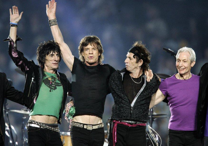 Les Rolling Stones... (Archives AFP)