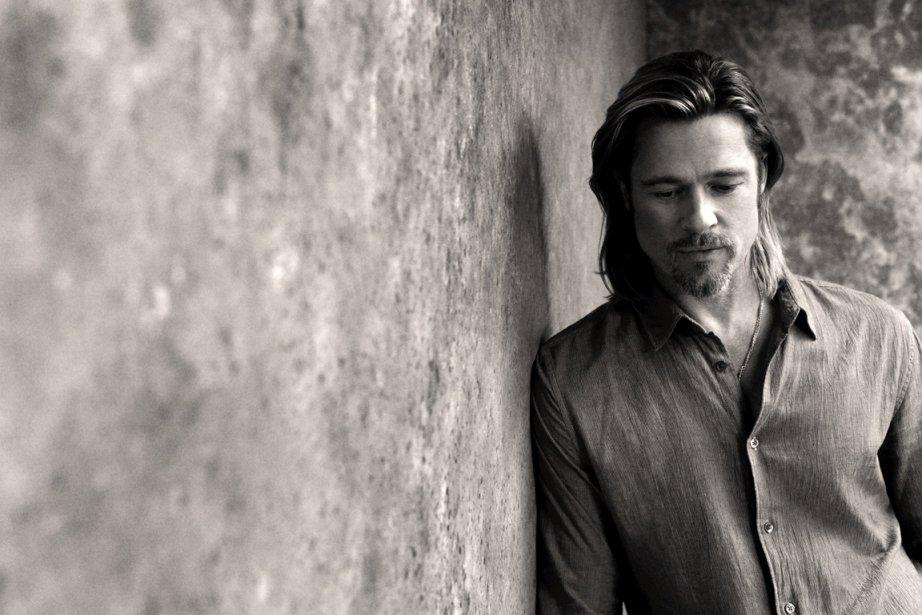 Brad Pitt photographié par Sam Taylor-Wood pour la... (Photo : Chanel)