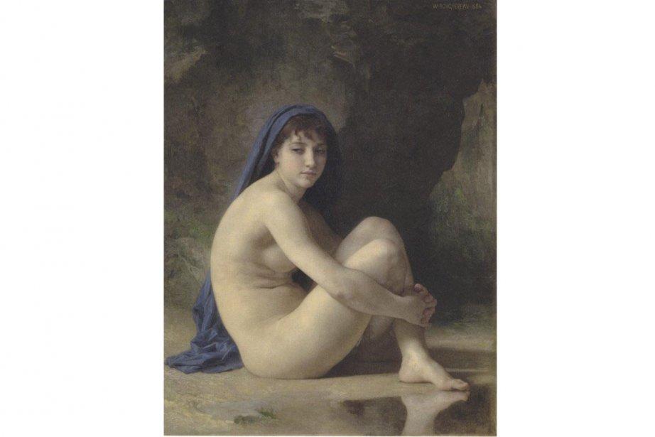 Nu assis, William-Adolphe Bouguereau... (Photo: fournie par le Musée des beaux-arts de Montréal)