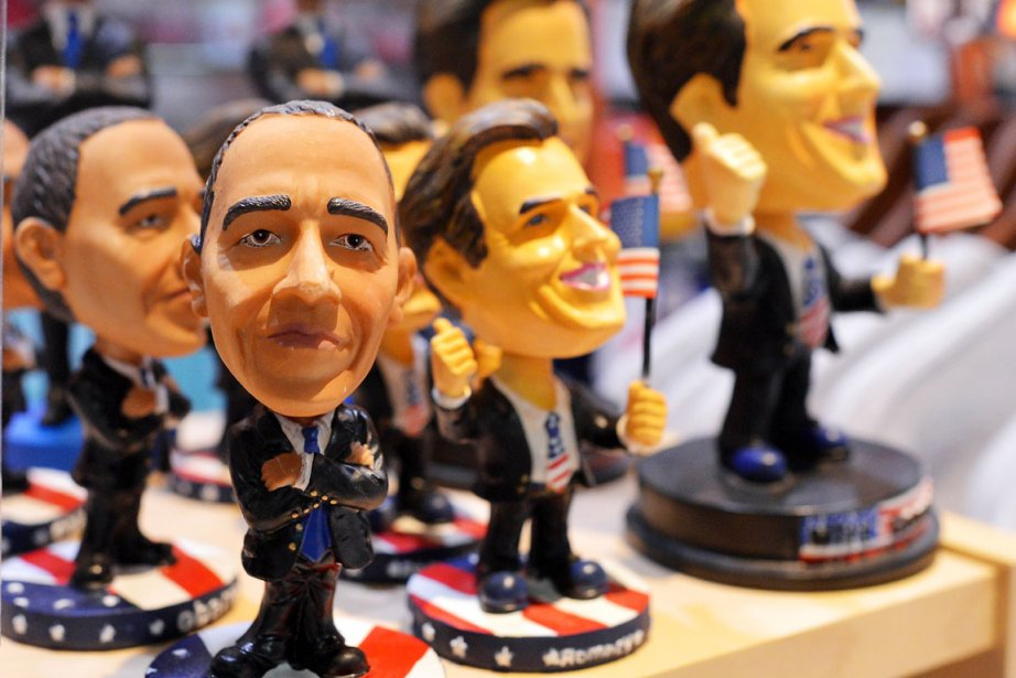 Quelque 80 électeurs indécis interrogeront le président sortant... (PHOTO JEWEL SAMAD, AFP)