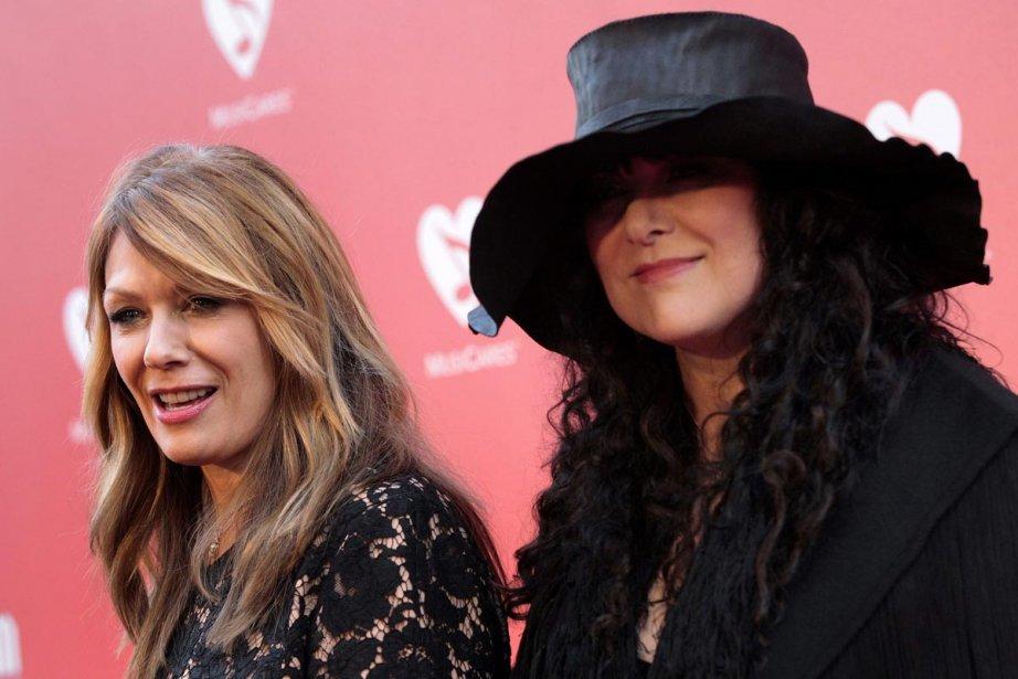 Nancy et Ann Wilson du groupe Heart photographiées... (Photo: Reuters)