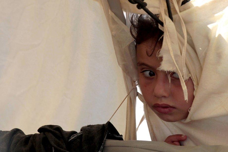 599748-jordanie-jeune-fille-syrienne-camp BANDE DE GAZA dans POLITIQUE