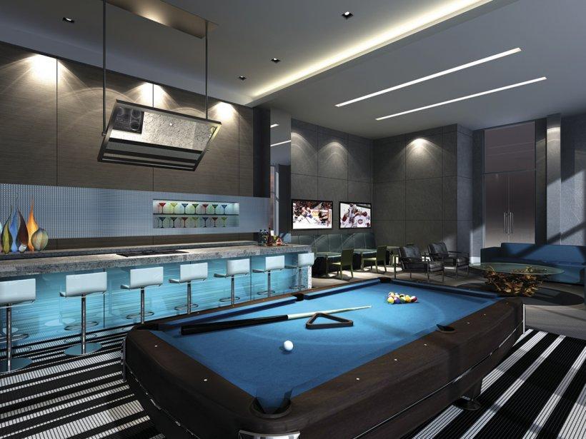 Les futurs copropriétaires pourront notamment jouer au billard et regarder la télé, au rez-de-chaussée. | 15 octobre 2012