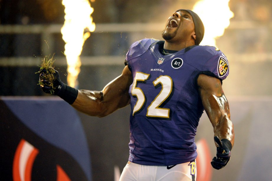Le secondeur des Ravens de Baltimore, Ray Lewis.... (Photo Nick Wass, Associated Press)