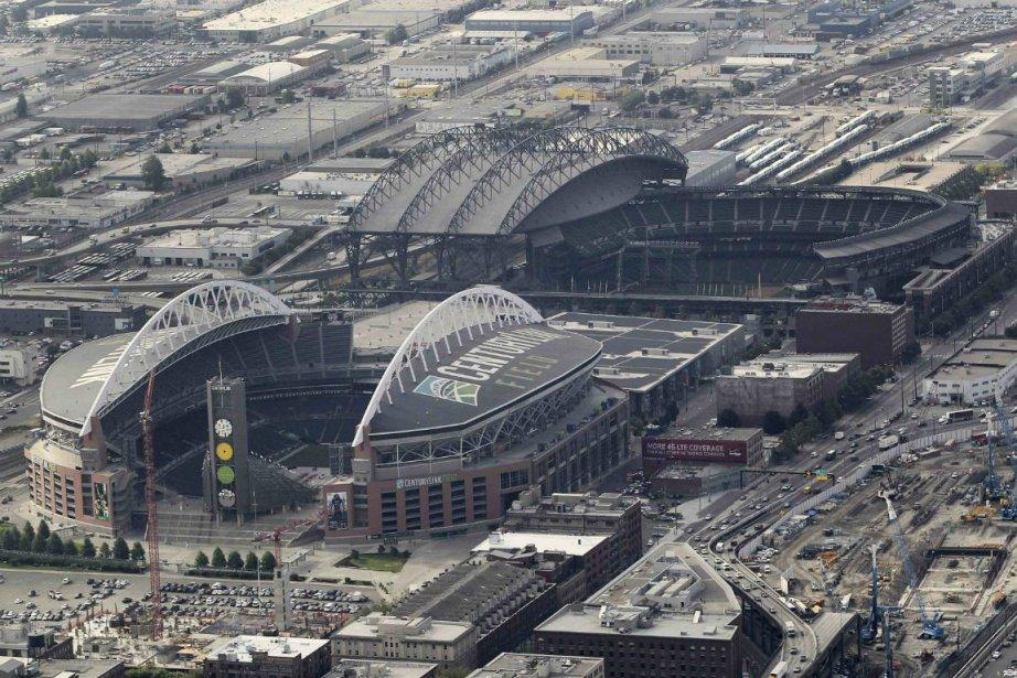 Le futur amphithéâtre de Seattle pourrait être construit... (Photo Anthony Bolante, Reuters)