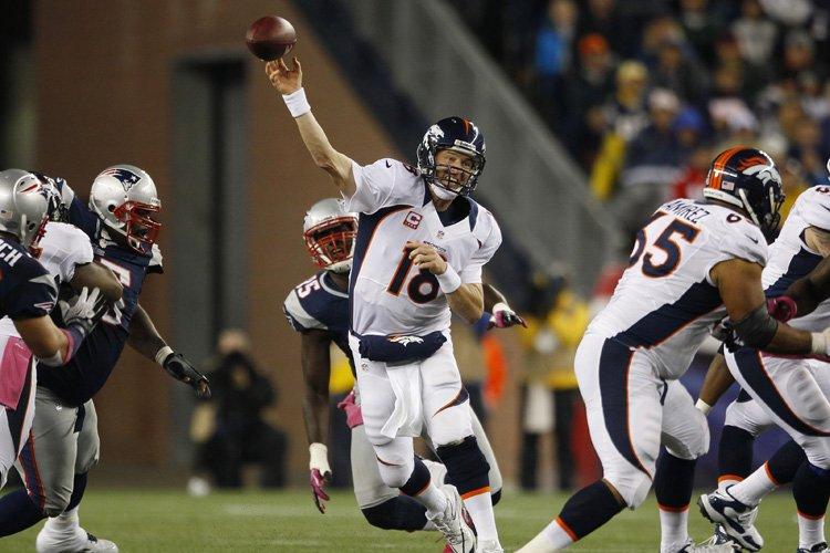 Peyton Manning a orchestré la remontée des Broncos... (Photo: Reuters)