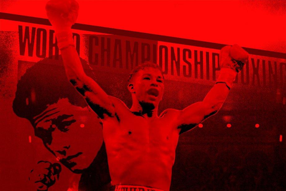 Un premier boxeur québécois de l'ère moderne pourrait... (Photomontage La Presse)