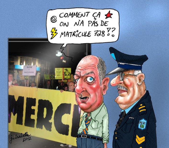 Caricature du 16 octobre | 16 octobre 2012