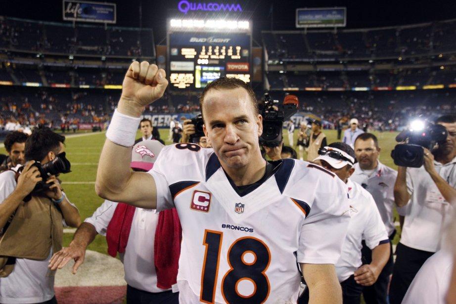 Peyton Manning a orchestré une remontée spectaculaire des... (Photo Associated Press)