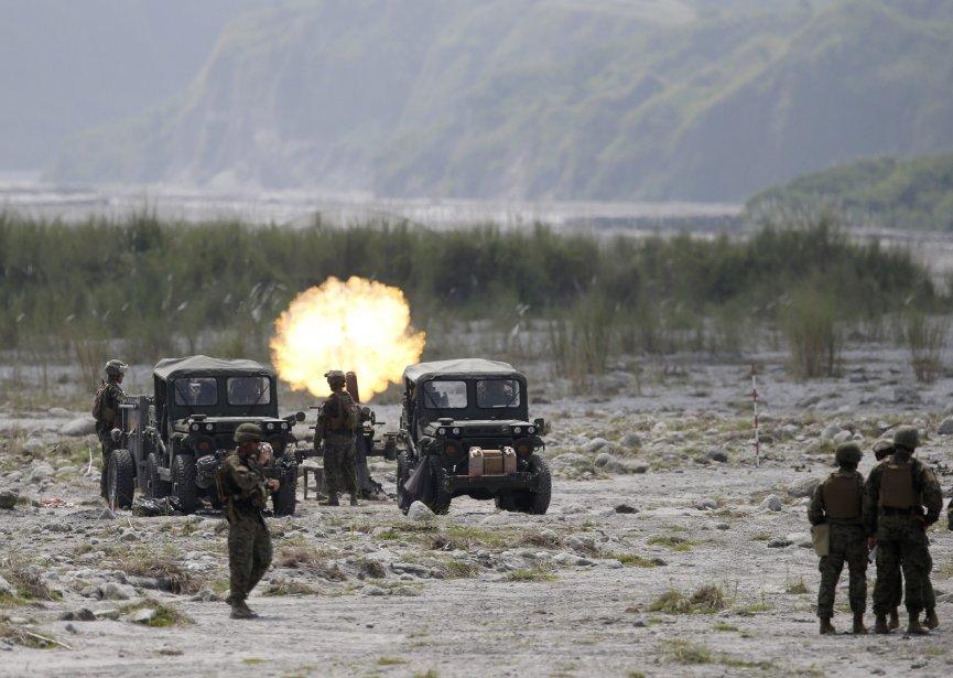 Tirs de mortiers. | 16 octobre 2012