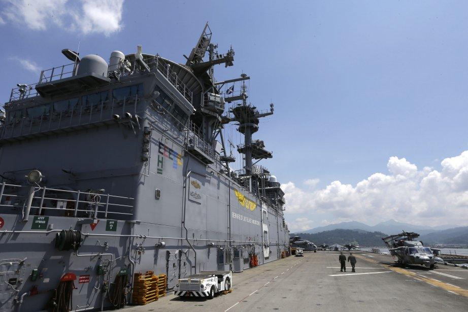 À bord du porte-avions | 16 octobre 2012