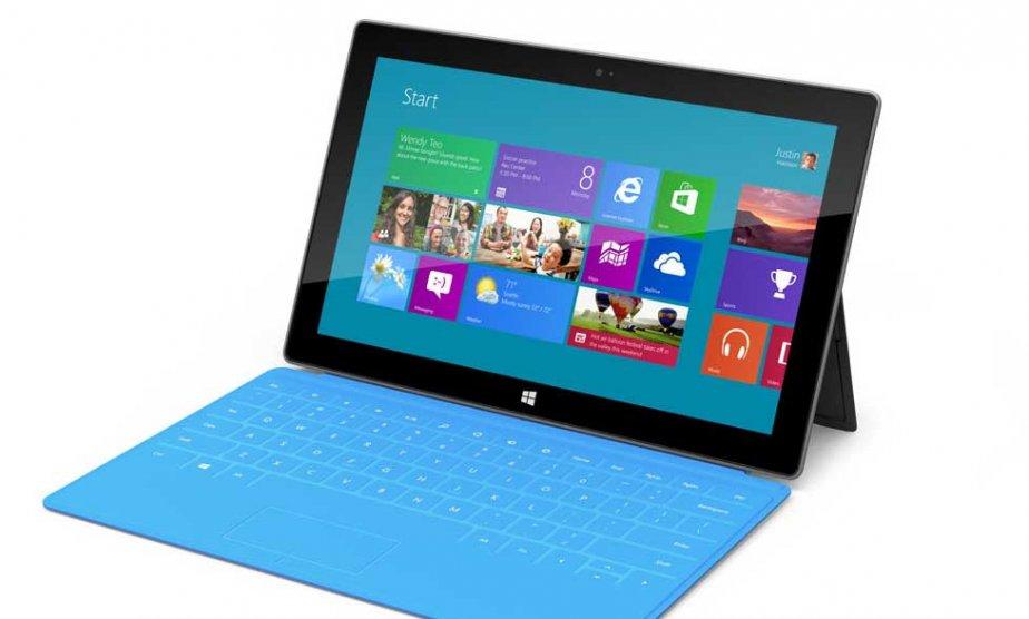 La tablette Surface RT était vendue à 349$...