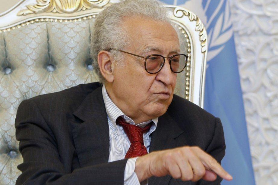 L'émissaire international Lakhdar Brahimi a lancé un appel... (PHOTO MOHAMMED AMEEN, REUTERS)